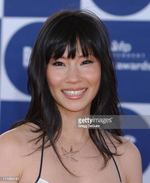 Lucy Liu during The 19th Annual IFP Independent Spirit Awards Arrivals at Santa Monica Pier in Santa Monica California United States