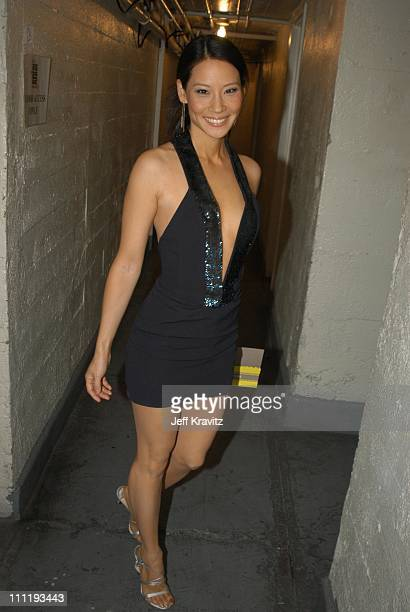 Lucy Liu during VH1 Big in 2002 Awards Backstage and Audience at Grand Olympic Auditorium in Los Angeles CA United States