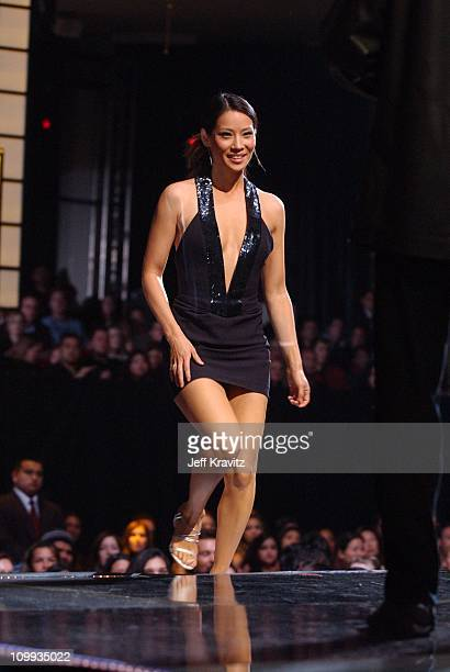 Lucy Liu during VH1 Big in 2002 Awards Show at Grand Olympic Auditorium in Los Angeles California United States