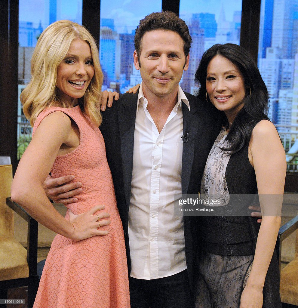 MICHAEL -6/12/13 - Lucy Liu is Kelly's co-host and Mark Feuerstein stops by 'LIVE with Kelly and Michael,' distributed by Disney-ABC Domestic Television. LIU