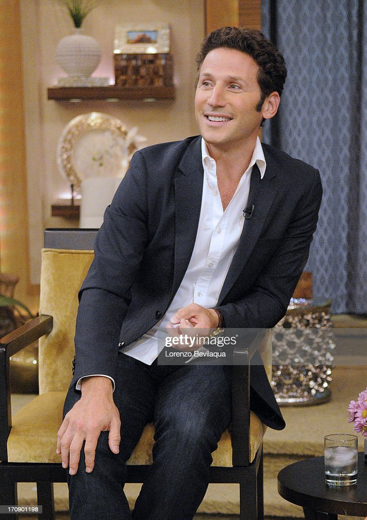 MICHAEL -6/12/13 - Lucy Liu is Kelly's co-host and Mark Feuerstein stops by 'LIVE with Kelly and Michael,' distributed by Disney-ABC Domestic Television. MARK