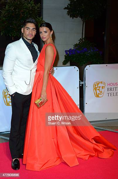 Lucy Mecklenburgh and Louis Smith attends the After Party dinner for the House of Fraser British Academy Television Awards at The Grosvenor House...