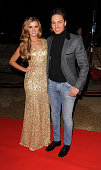 Lucy Mecklenburgh and Mario Falcone sighting at TOWIE live on December 3 2012 in London England