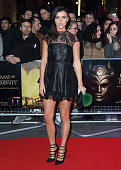Lucy Mecklenburgh arrives for the Gala Screening of 'Game of Thrones' Season 5Episode 8'Hardhome' at Empire Leicester Square on March 14 2016 in...