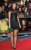 Lucy Mecklenburgh arrives for the Gala Screening of 'Game of Thrones' Season 5 Episode 8 'Hardhome' at Empire Leicester Square on March 14 2016 in...