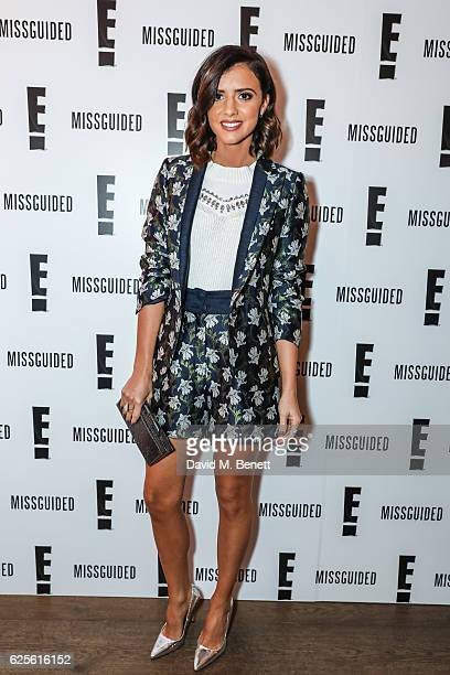 Lucy Mecklenburgh at E's Mariah's World launch at Ham Yard Hotel on November 24 2016 in London England