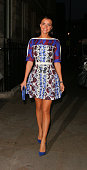Lucy Mecklenburgh at The Sanctum Hotel for the Union J fragrance launch party on September 24 2014 in London England
