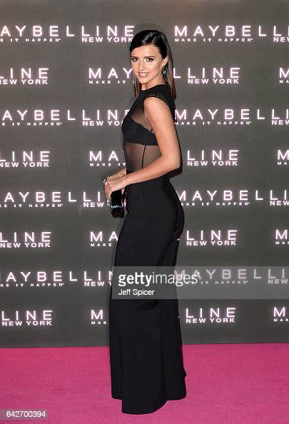 Lucy Mecklenburgh attends Maybelline's Bring On The Night Party on February 18 2017 in London United Kingdom