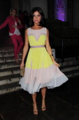 Lucy Mecklenburgh attends Superdrug's 50th Birthday party at 1 Marylebone on April 23 2014 in London England