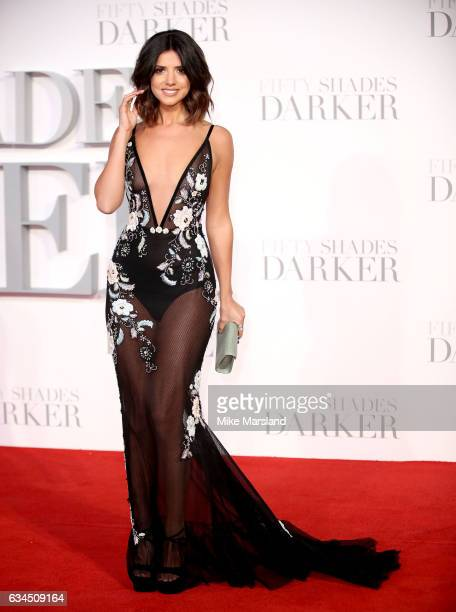 Lucy Mecklenburgh attends the 'Fifty Shades Darker' UK Premiere on February 9 2017 in London United Kingdom