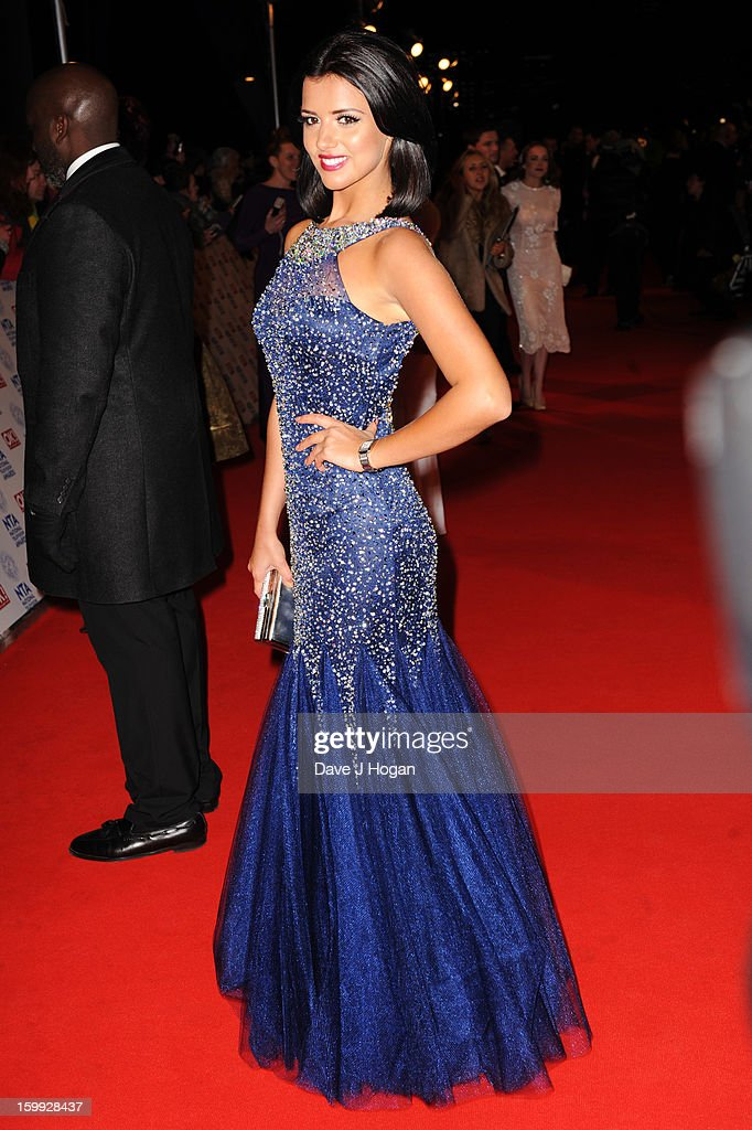 Lucy Mecklenburgh attends the National Television Awards 2013 at The O2 Arena on January 23, 2013 in London, England.
