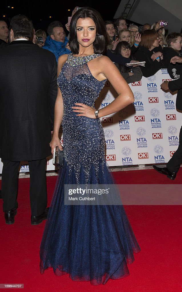 Lucy Mecklenburgh attends the National Television Awards at 02 Arena on January 23, 2013 in London, England.