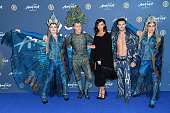 Lucy Mecklenburgh attends the Red Carpet arrivals for Cirque Du Soleil Amaluna at Royal Albert Hall on January 19 2016 in London England