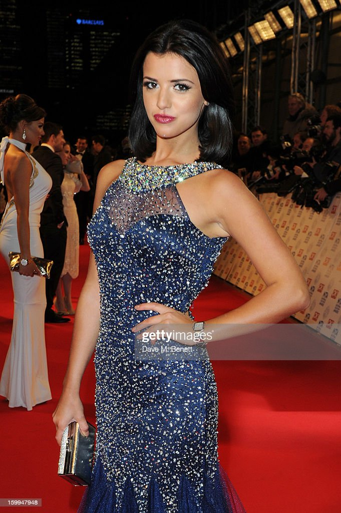 Lucy Mecklenburgh attends the the National Television Awards at 02 Arena on January 23, 2013 in London, England.