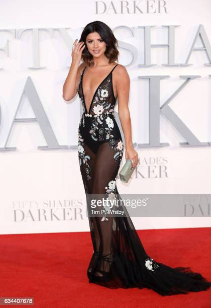 Lucy Mecklenburgh attends the UK Premiere of 'Fifty Shades Darker' at the Odeon Leicester Square on February 9 2017 in London United Kingdom