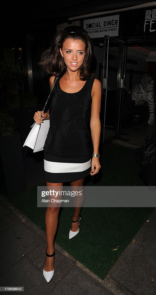 <a gi-track='captionPersonalityLinkClicked' href=/galleries/search?phrase=Lucy+Mecklenburgh&family=editorial&specificpeople=8009152 ng-click='$event.stopPropagation()'>Lucy Mecklenburgh</a> sighting at retro Feasts at The Embassy, Mayfair on June 13, 2013 in London, England.