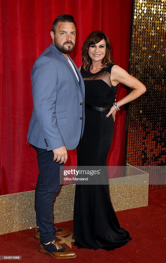 <a gi-track='captionPersonalityLinkClicked' href=/galleries/search?phrase=Lucy+Pargeter&family=editorial&specificpeople=236010 ng-click='$event.stopPropagation()'>Lucy Pargeter</a> and Rudi Coleano attend the British Soap Awards 2016 at Hackney Empire on May 28, 2016 in London, England.