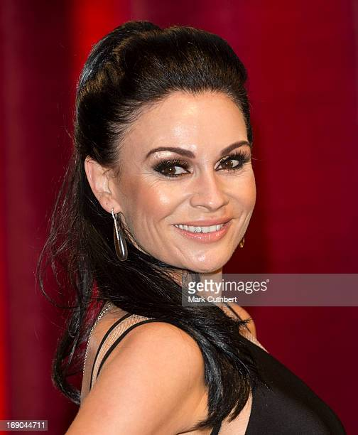 Lucy Pargeter attends the British Soap Awards at Media City on May 18 2013 in Manchester England