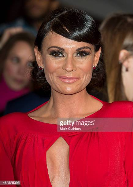 Lucy Pargeter attends the National Television Awards at 02 Arena on January 22 2014 in London England