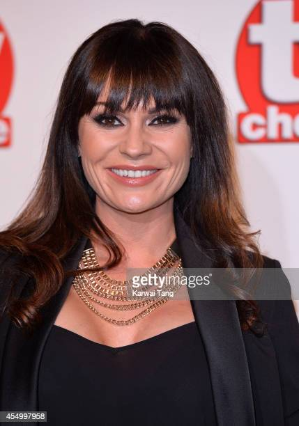 Lucy Pargeter attends the TV Choice Awards 2014 at London Hilton on September 8 2014 in London England