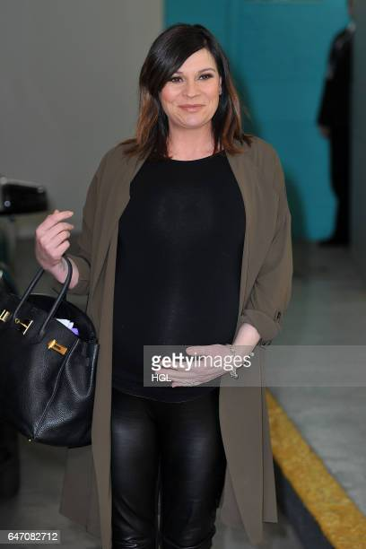 Lucy Pargeter seen at the ITV This Morning studios on March 2 2017 in London England
