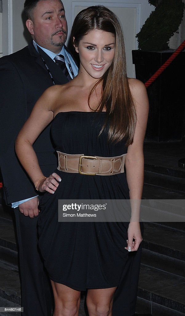 Lucy Pinder attends the Celebrity Big Brother wrap party on January 26, 2009 in London, England.
