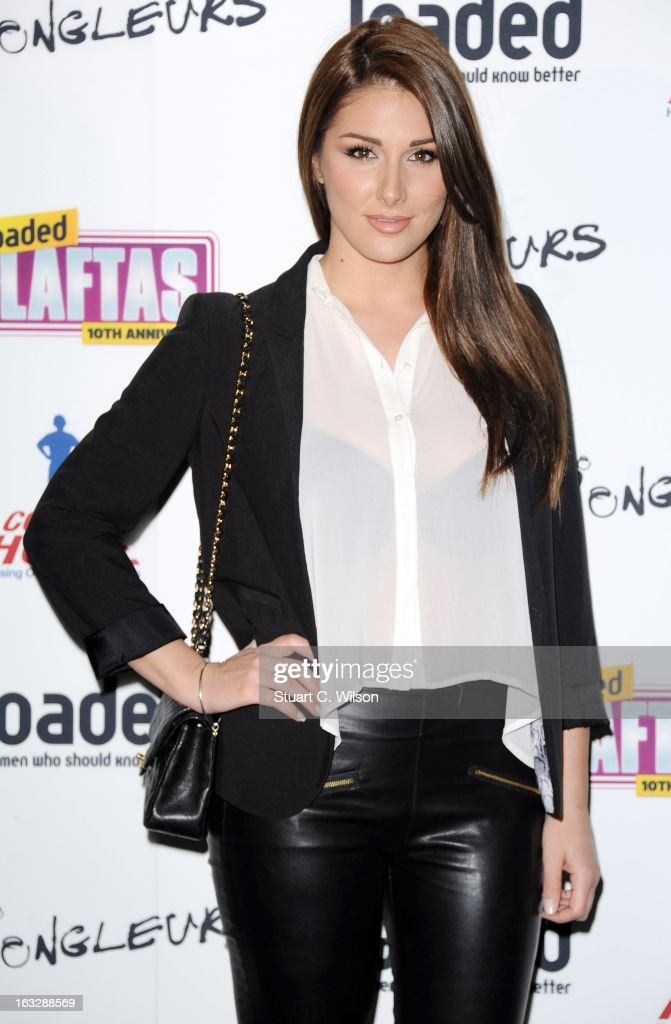 Lucy Pinder attends the Loaded LAFTA's at Sway on March 7, 2013 in London, England.