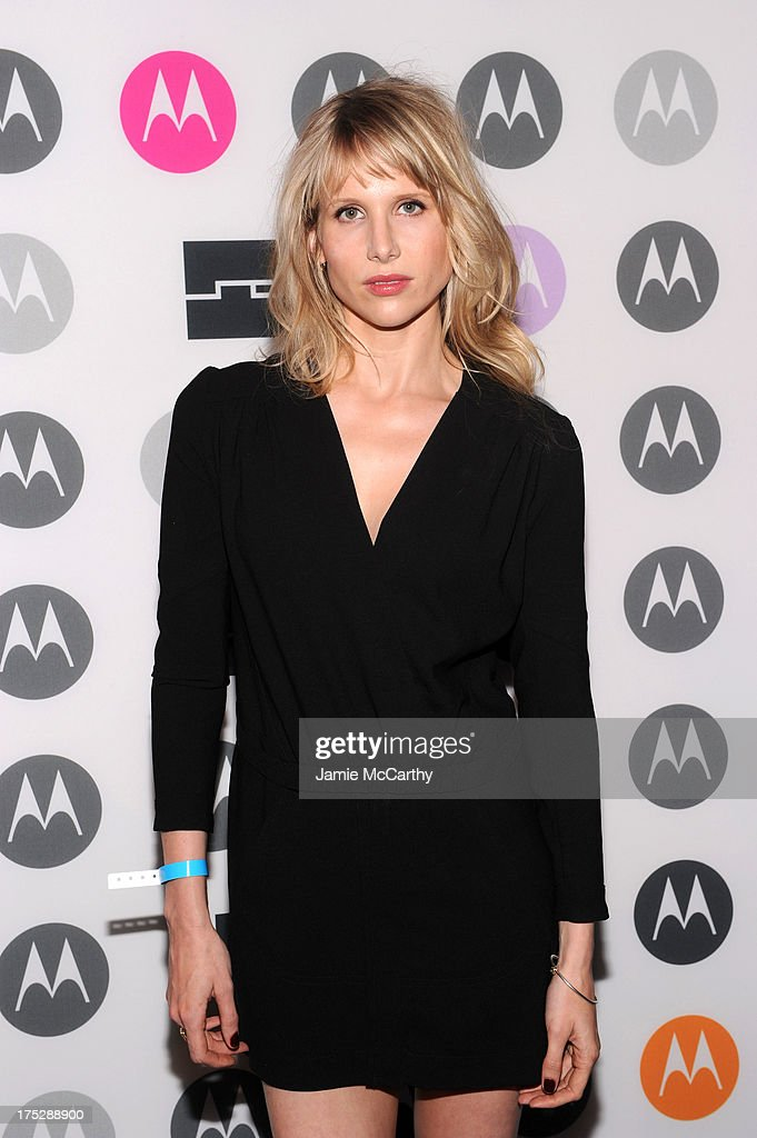 <a gi-track='captionPersonalityLinkClicked' href=/galleries/search?phrase=Lucy+Punch&family=editorial&specificpeople=207131 ng-click='$event.stopPropagation()'>Lucy Punch</a> attends Moto X Launch Event on August 1, 2013 in New York City.