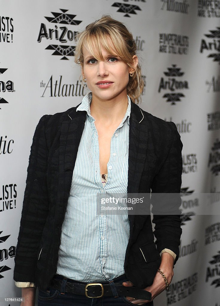 <a gi-track='captionPersonalityLinkClicked' href=/galleries/search?phrase=Lucy+Punch&family=editorial&specificpeople=207131 ng-click='$event.stopPropagation()'>Lucy Punch</a> attends The Atlantic Magazine And AriZona Beverages Los Angeles Premiere Of 'The Imperialists Are Still Alive!' at Soho House on April 19, 2011 in West Hollywood, California.