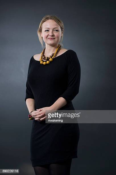Lucy Ribchester attends the Edinburgh International Book Festival on August 16 2016 in Edinburgh Scotland The Edinburgh International Book Festival...
