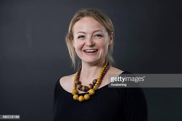 Lucy Ribchester attends the Edinburgh International Book Festival on August 16 2016 in Edinburgh Scotland The Edinburgh International Book Festival...