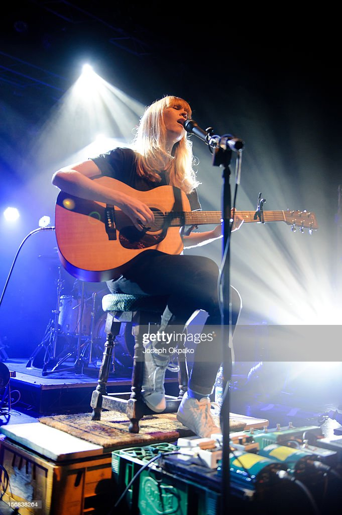 Lucy Rose performs at Electric Brixton on November 22, 2012 in London, England.