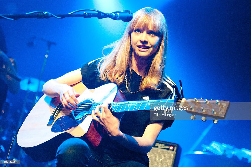 Lucy Rose performs during her first UK gig of the year onstage at 02 academy on April 19, 2013 in Birmingham, England.