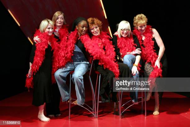 Lucy Speed Alison Newman Diane Parish Rula Lenska Jenny Eclair and Christine Hamilton
