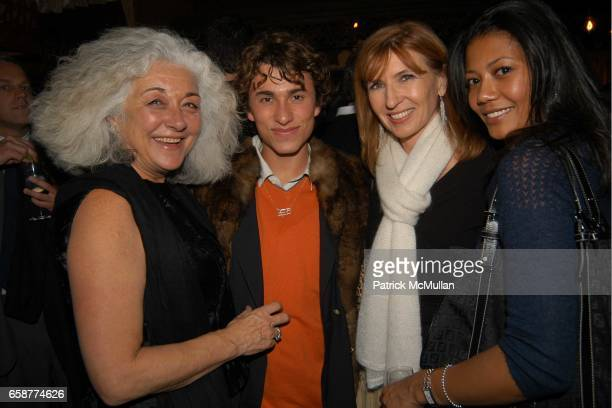 Lucy Suarez Esteban Cortazar Nicole Miller and Marja Vongerichten attend Olympus and 7th on Sixth Celebrate The Launch of Olympus Fashion Week at The...