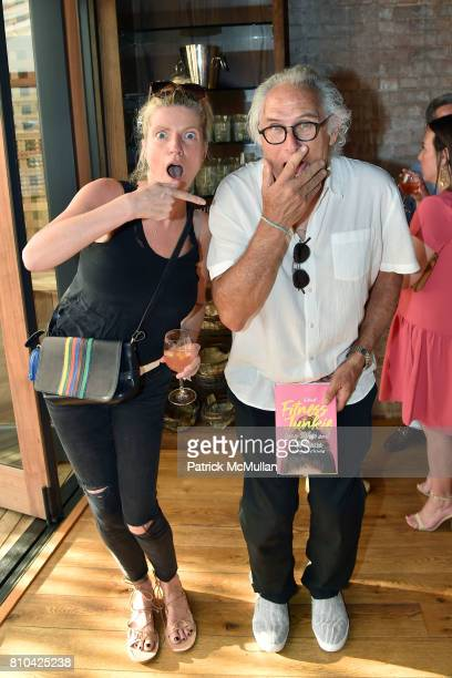 Lucy Sykes Rellie and Eric Fischl attend eBay Hosts July 4th Benefit for Sag Harbor Cinema Restoration Project at Lulu Kitchen and Bar on July 3 2017...