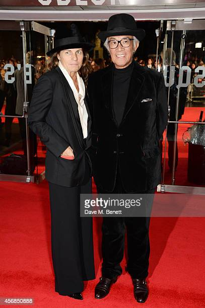 Lucy Tang and Sir David Tang attend the Opening Night Gala Screening of 'The Imitation Game' during the 58th London Film Festival at Odeon Leicester...