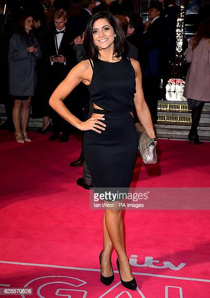 Lucy Verasamy attending the ITV Gala at the London Palladium