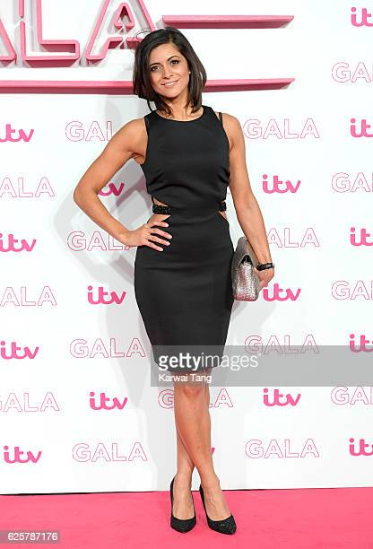 Lucy Verasamy attends the ITV Gala at London Palladium on November 24 2016 in London England