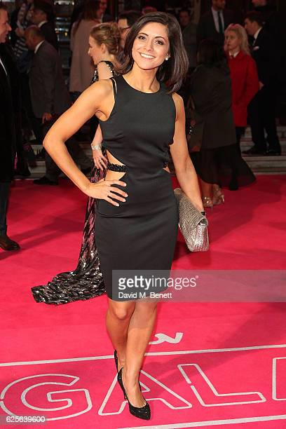 Lucy Verasamy attends the ITV Gala hosted by Jason Manford at London Palladium on November 24 2016 in London England