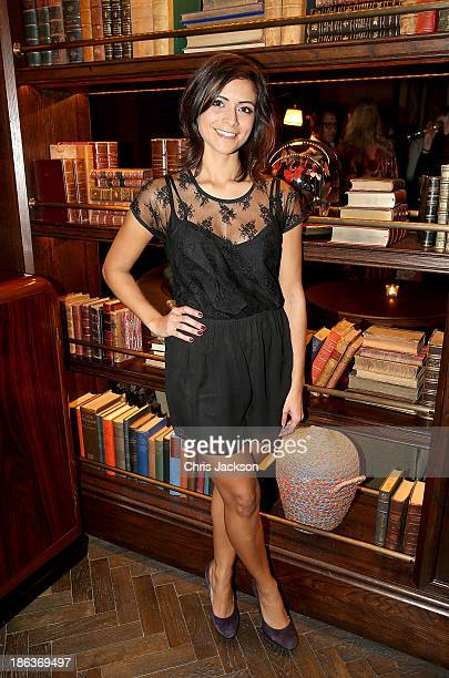 Lucy Verasamy attends the opening of Rosewood London on October 30 2013 in London England