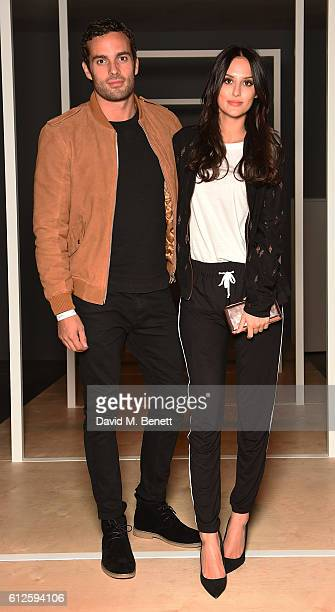 Lucy Watson and James Dunmore attend the launch of Google's new phone 'Pixel' with an exclusive live performance from Craig David in front of a...