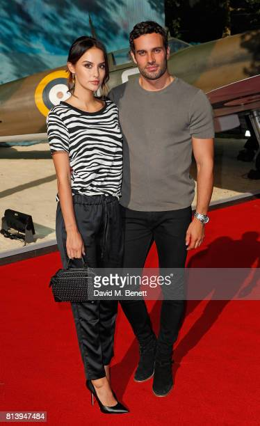 Lucy Watson and James Dunmore attend the World Premiere of 'Dunkirk' at Odeon Leicester Square on July 13 2017 in London England