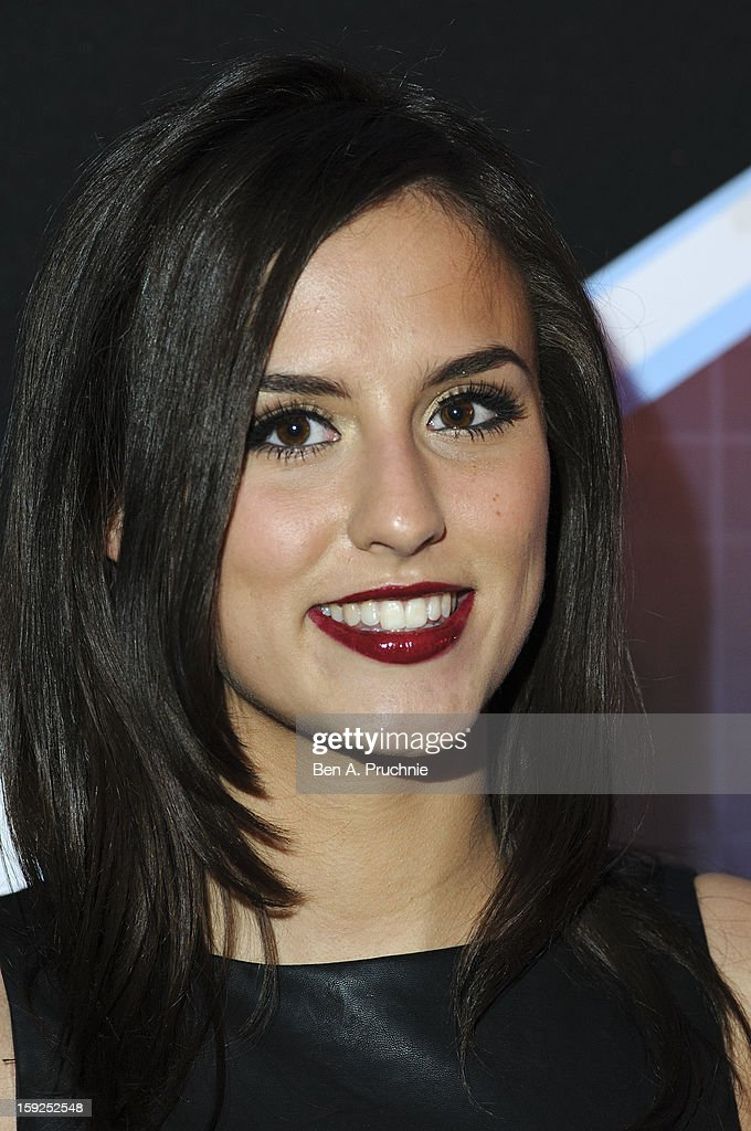 Lucy Watson attends the Lynx L.S.A launch event at Wimbledon Studios on January 10, 2013 in London, England.