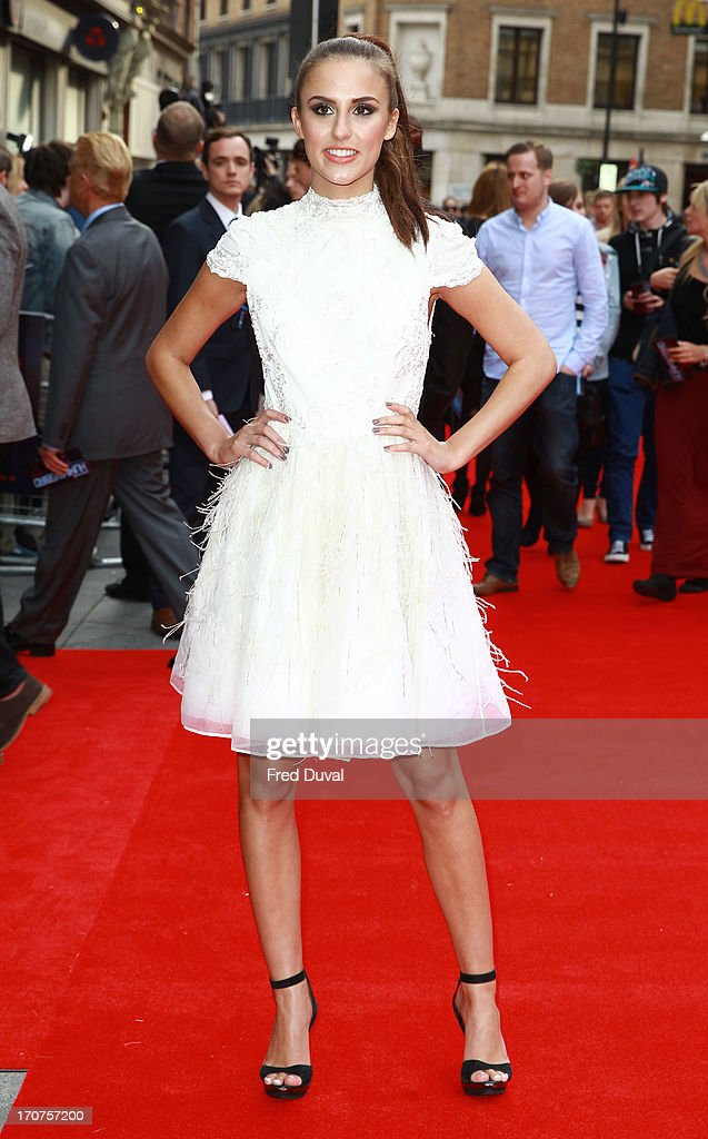 Lucy Watson attends the UK Premiere of 'Hummingbird' at Odeon West End on June 17, 2013 in London, England.