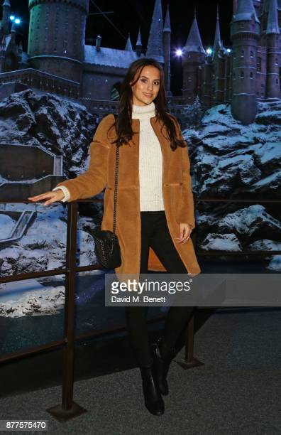 Lucy Watson attends the VIP launch of 'Hogwarts In The Snow' at Warner Bros Studio Tour London The Making Of Harry Potter on November 22 2017 in...