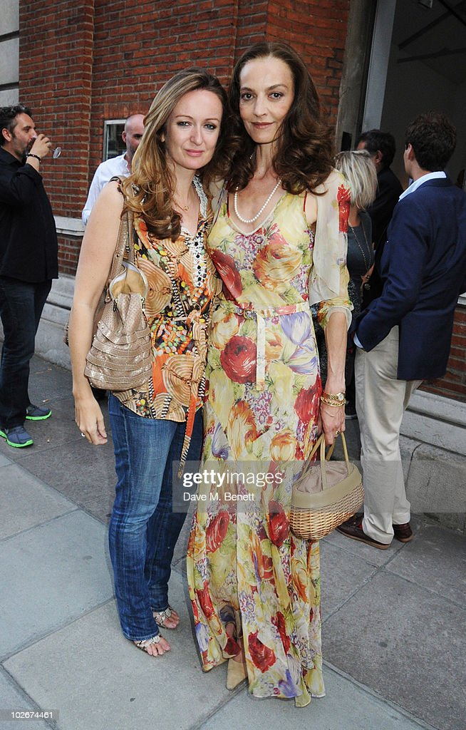 Lucy Yeomans and Catherine Bailey attend Hamiltons Gallery Exhibition of David Bailey 'Then' on July 6 2010 in London England