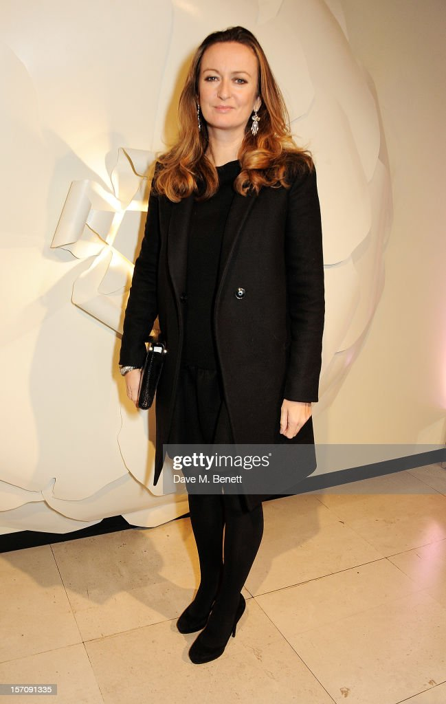 Lucy Yeomans attends a private view of 'Valentino: Master Of Couture', exhibiting from November 29th, 2012 - March 3, 2013, at Somerset House on November 28, 2012 in London, England.