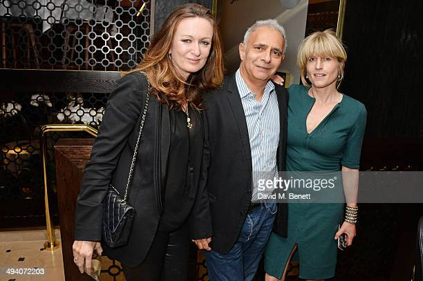 Lucy Yeomans EditorinChief of PORTER magazine Hanif Kureishi and Rachel Johnson attend a private dinner hosted by PORTER Magazine for author Siri...