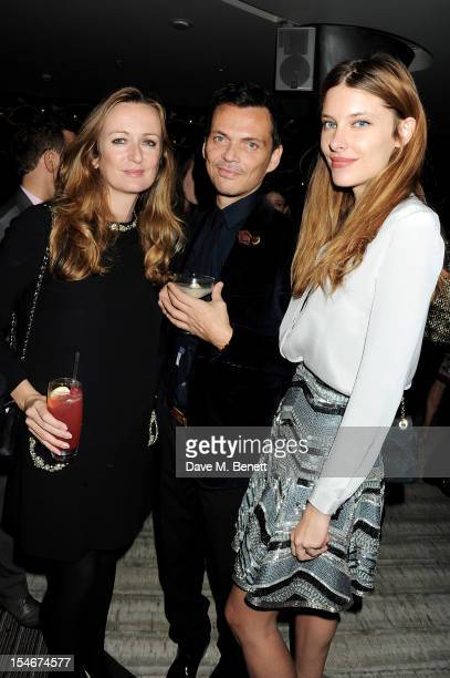 Lucy Yeomans Matthew Williamson and Sara Brajovic attend as Matthew Williamson celebrates his 15th anniversary featuring a VIP screening of his film...
